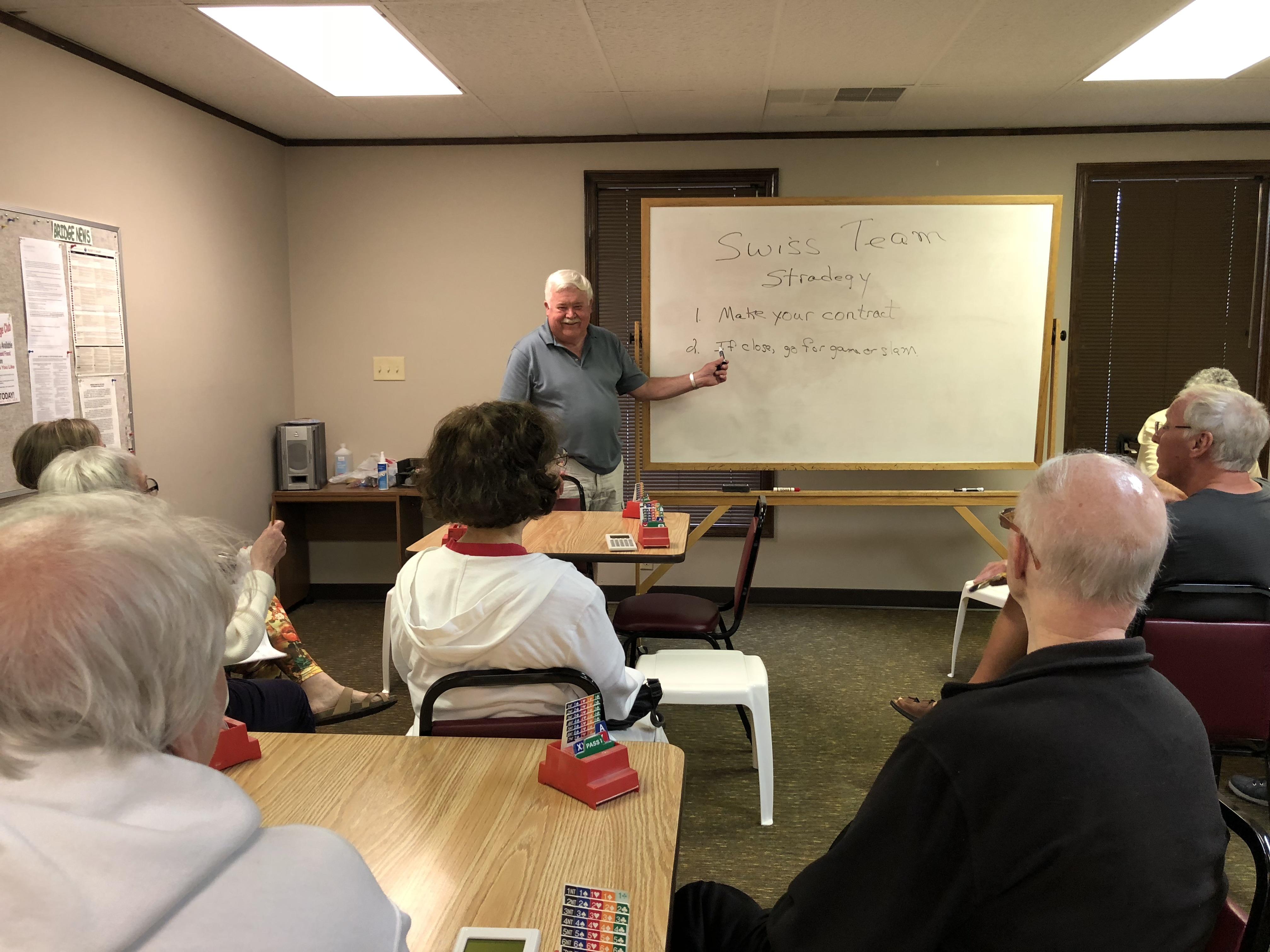 Lee teaching